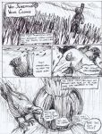 #drawlloween Scarecrow Comic, Page 1/2 by brock-art
