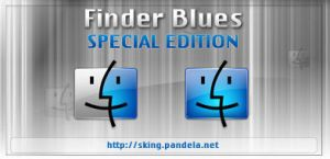 Finder Blues for mac by skingcito