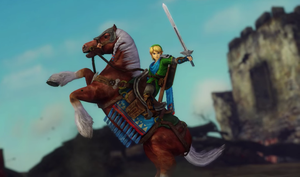 Link and Epona by isaac77598