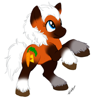 Epona the pony. by BritishStarr