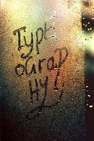 Type is everywhere... by James-McKenzie