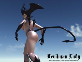 Devilman Lady Fanservice by asgard-knight