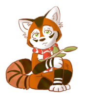 Red Panda by CartoonFriendly