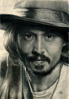 Johnny Depp by th3blackhalo