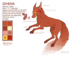Gehena Reference Sheet by Arseniks