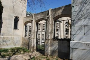 Mausoleum Courtyard Gates by Stock-by-Kai