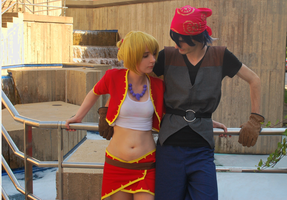 Chrono Cross: Serge and Kid 4 by narrioncosplay