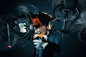 Halloween Town Sora ::06 by Cvy