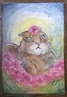 Flowers Are Stupid ACEO by LimehouseBlues
