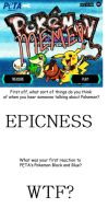 Pokemon Black and Blue meme by terrafinrules