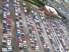 Cars galore by fannysmella