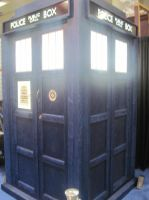 TARDIS at Comic Con 2011 1 by EspioArtworks