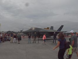 MCAS Airshow 2015 Pics- F-35B Lightning II by SpudYeisleyCreations