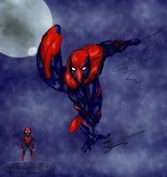 Spider-Man Redesign by Orlock