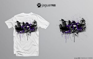 Black City t-shirt by JaguarProd