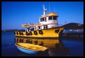 Yellow Boat by indifferentlife