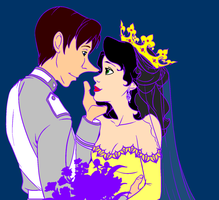Marriage Count Fersen and Madame de Larson by Rina53