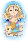 Crystal Maiden wink by keterok
