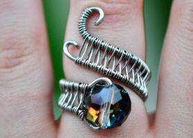 Adjustable Dragon's Eye Ring by XenOhm