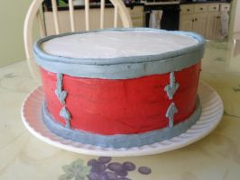 Drum Cake by PnJLover