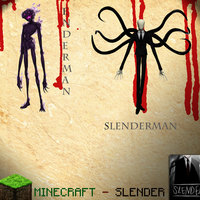 Enderman and Slenderman by DpalexDevianart