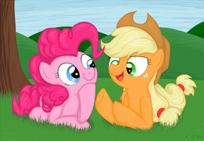 talking 'bout apples by StupidLittleCreature