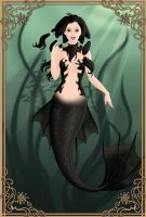 Gothic Mermaid by LadyAquanine73551