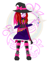 The Candy Witch by Dragon-FangX