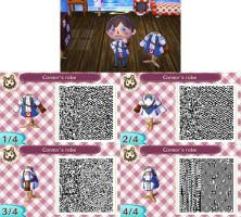 Animal Crossing : Connor's robe long sleeve shirt by PrinceOfRedroses