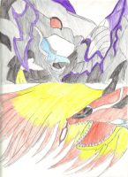 Bahamut vs Zodiark by MewMew55