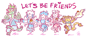 Let's Be Friends by raizy