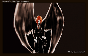 black as the devil painteth by Zoehi