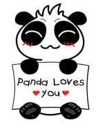 Panda loves you ~^_^~ by rios-michikeru