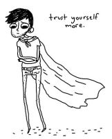 trust yourself more. by boobookittyfuck