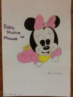 Baby Minnie Mouse by LuvYen101
