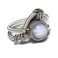 Cyberpunk Opalite Ring by CatherinetteRings
