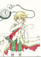 Pandora Hearts : Oz Vessalius by DrawIfAffinity