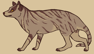 Thylacine design - $3 by pandapoots