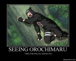 Orochimaru demotivational poster by stealing-Hidans-tofu