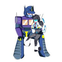 SG Optimus and Jazz by des107