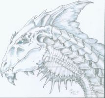 White Dragon by cactuarZrule
