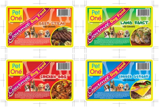 Pet One Gourmet Dog Food by knight0821