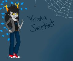 Vriska Desktop by Corrupted-CheeseBall