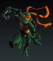 Michelangelo by scissortail