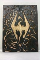 Skyrim Wood Burning by kicker599
