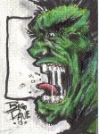 hulk sketch card by BiggDave