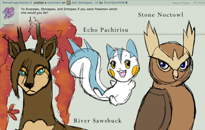 Ask Stonepaw: 18 (Guests: Echopaw and Riverpaw)
