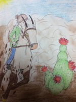 Wednesday - Cacti Racing by White--Swallow