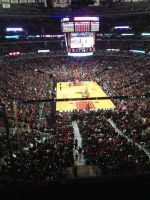 Bulls vs heat at the Chicago United Center by brandonthebeast34