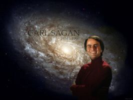 Carl Sagan by Lord-Iluvatar
